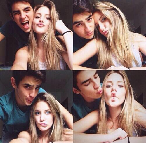Photo poses for couples selfie