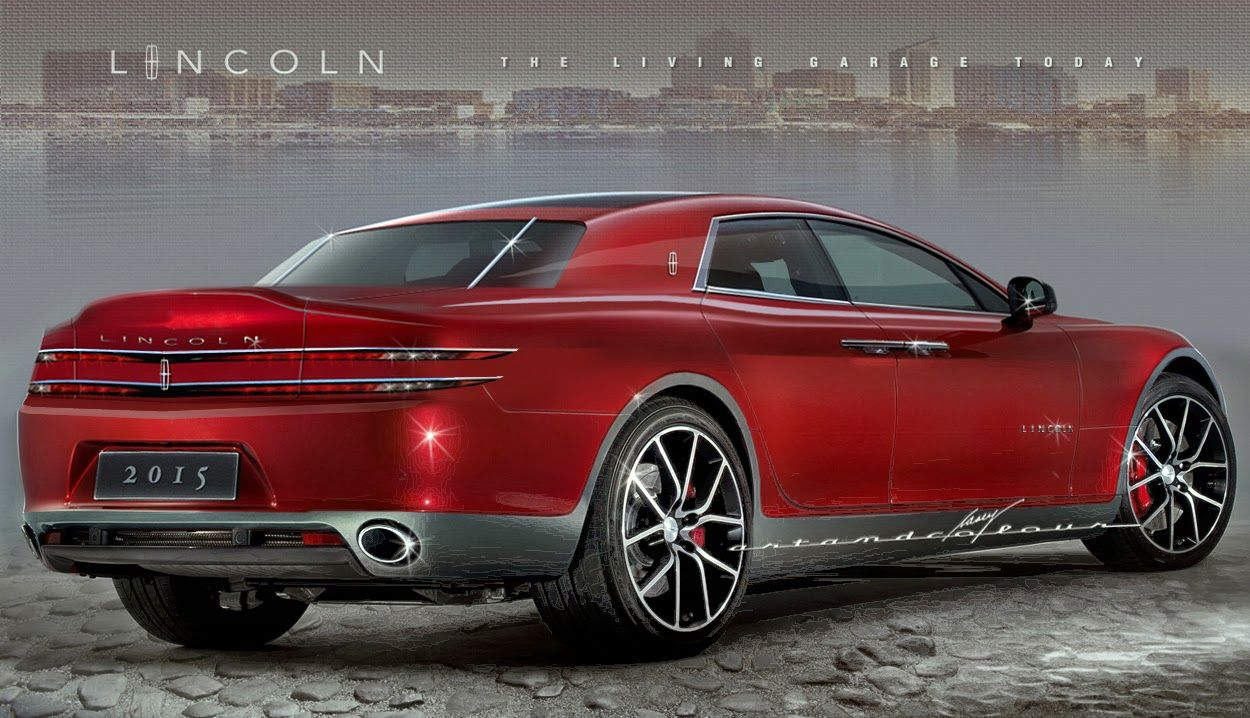 Lincoln Continental Starts Off The New Year Right Latest Sport Concept Chop Utilizes A 1950s Tagline Living Garage