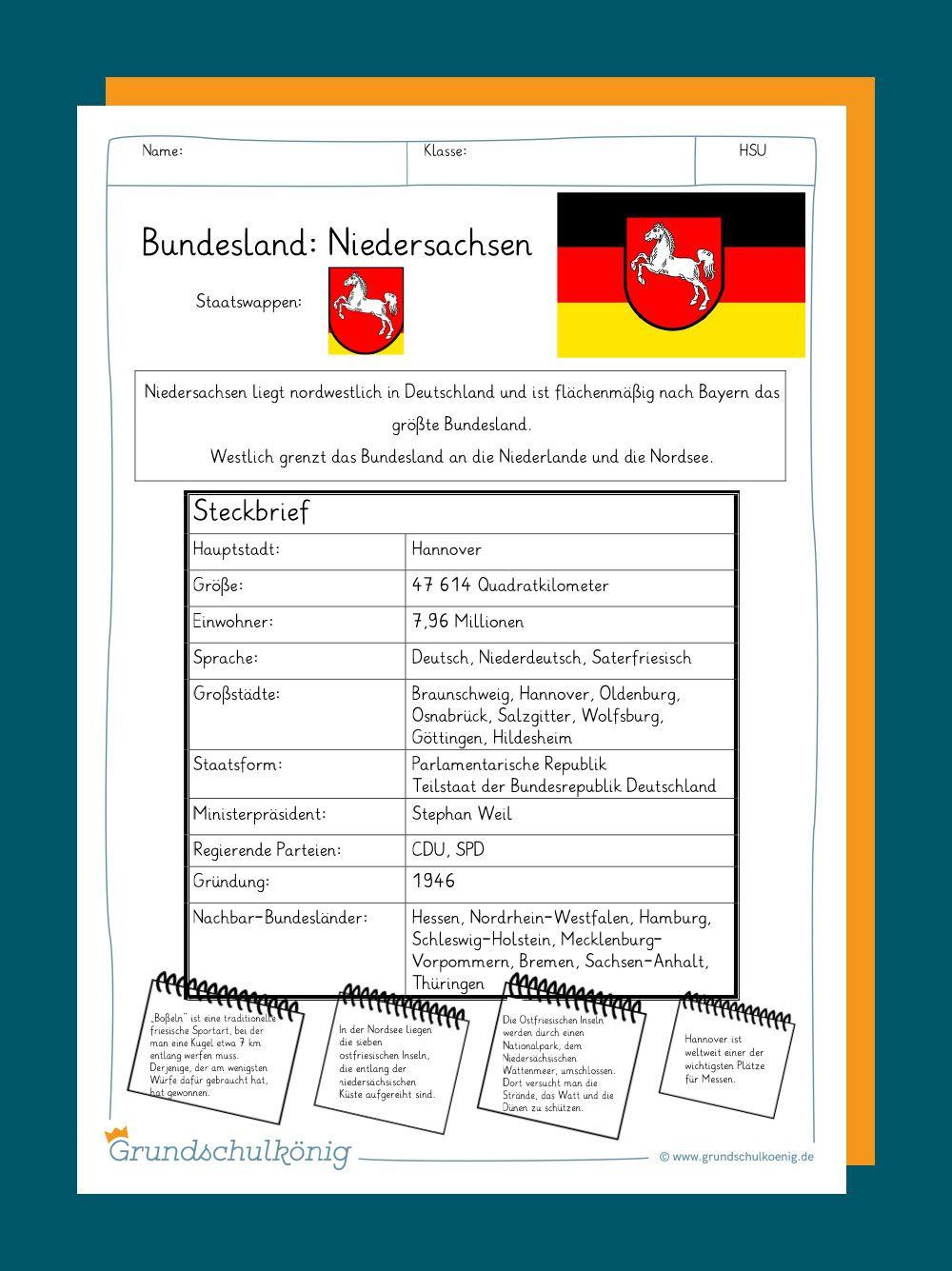 Arbeitsblätter mit Übungen und Aufgaben sowie Steckbriefe für ...