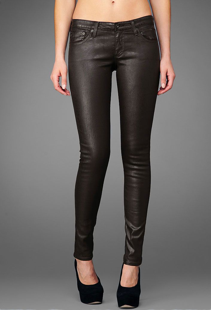 AG Jeans...Leatherette...