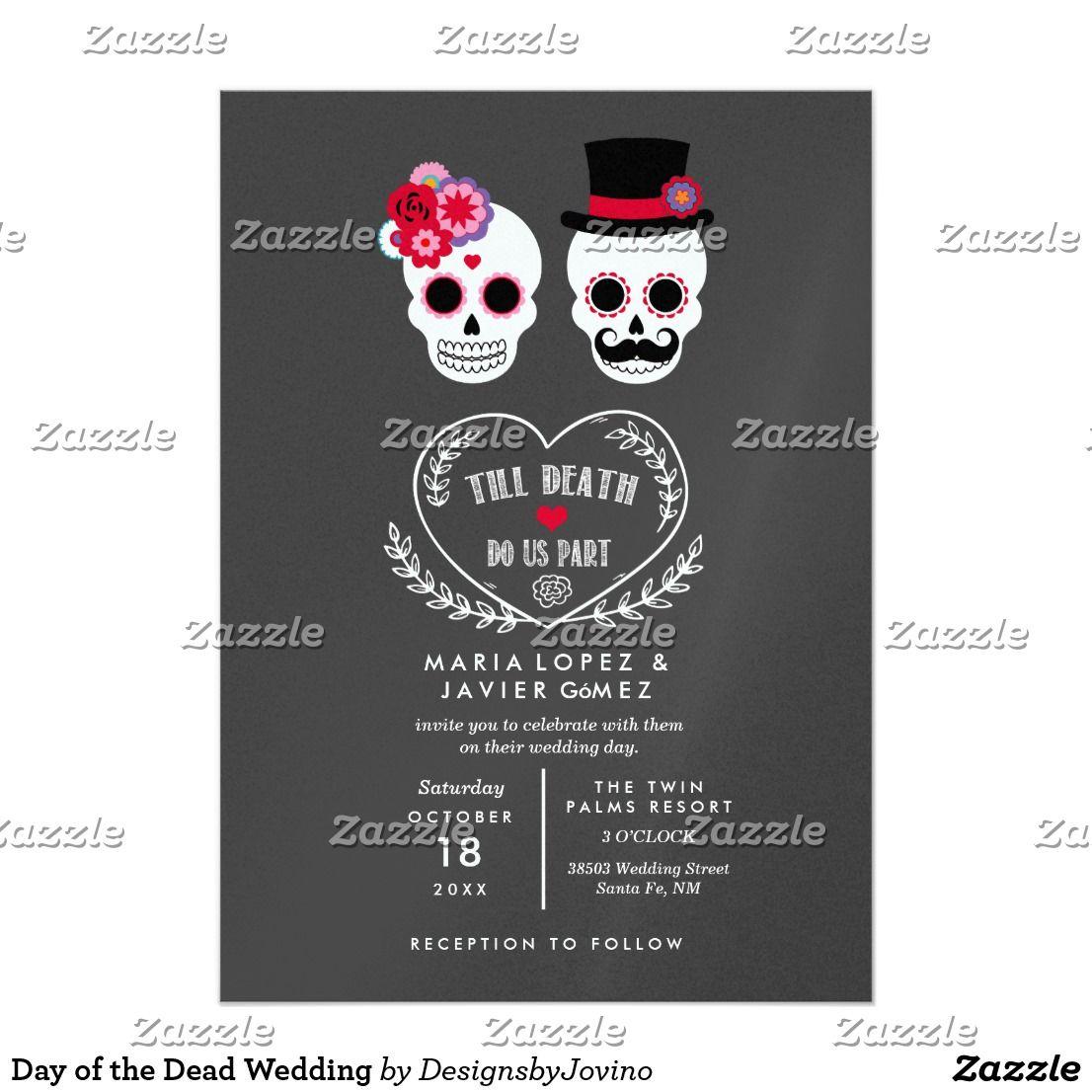 Tag der toten Hochzeit Karte