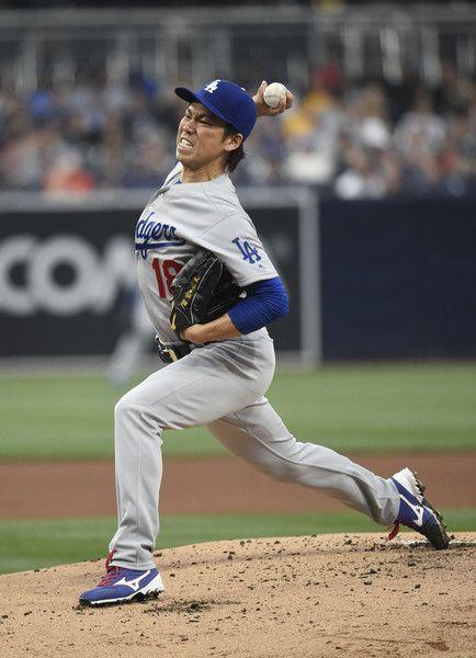Kenta Maeda Photos Photos Los Angeles Dodgers V San Diego Padres Dodgers Los Angeles Dodgers San Diego Padres