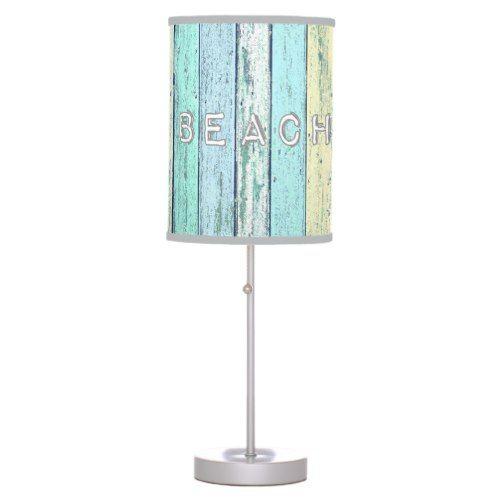 Driftwood Beach Desk Lamp Driftwood Table Beach Themed Lamps