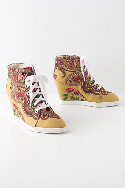 Tearoom Wedge Sneakers - Anthropologie.com