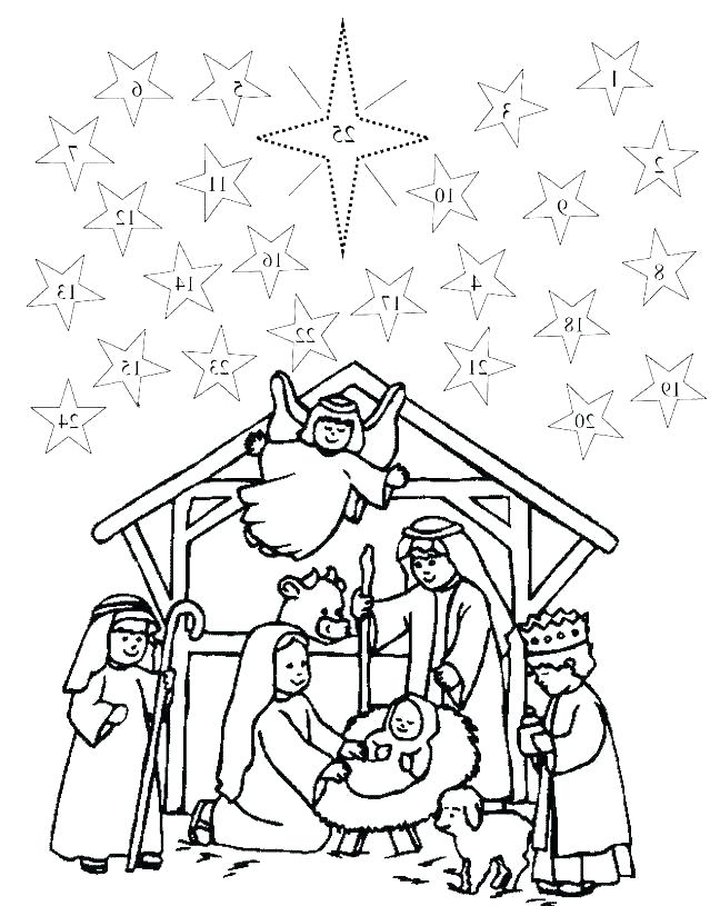Nativity Coloring Pages For Preschool Free Advent Printables Christmas Coloring Pages Adven Advent Coloring Nativity Coloring Pages Christmas Coloring Pages