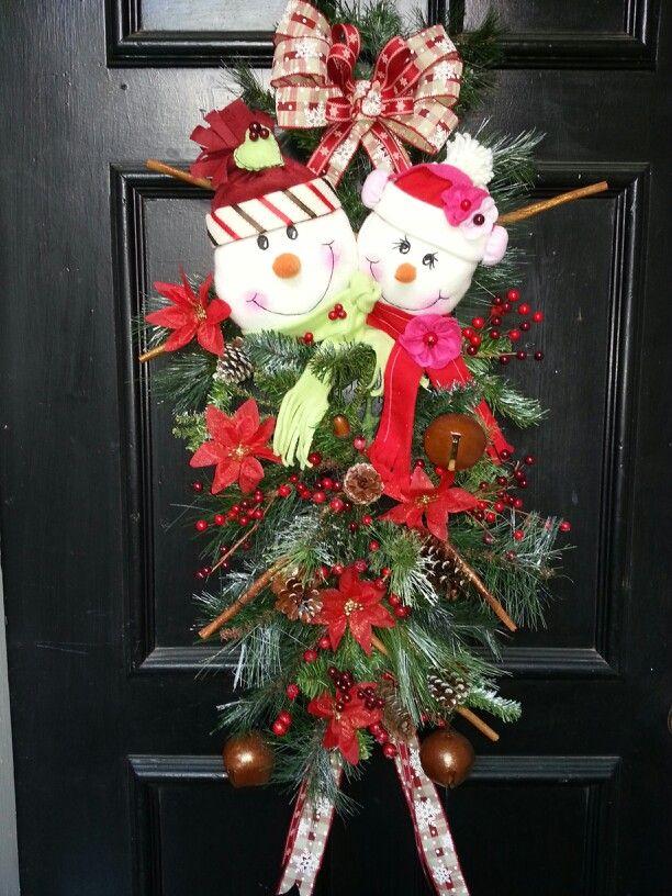 Adornos navideos para puertas las navidad es una gran for Adorno navidad puerta entrada