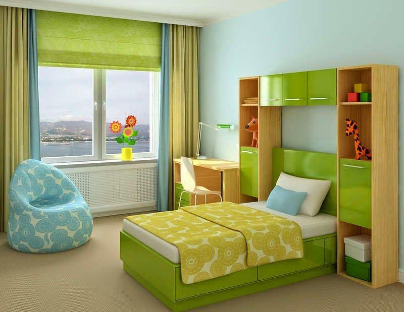Habitaciones Para Adolescentes Color Verde Small Bedroom Furniture Small Bedroom Arrangement Arranging Bedroom Furniture