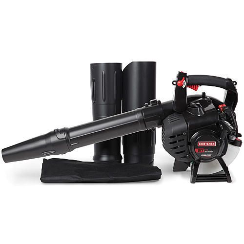 Craftsman 41bs2bvg799 27cc Gas Blower With Vac Kit Gas Blowers