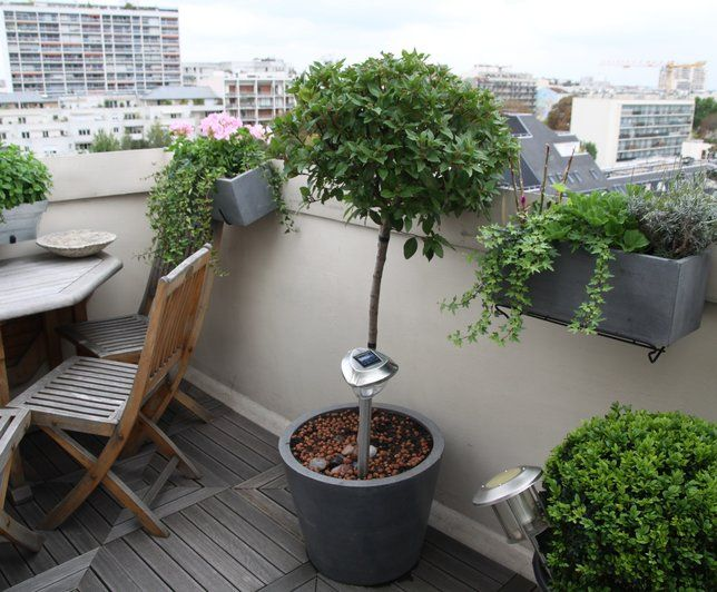 photo deco terrasse balcon veranda appartement. Black Bedroom Furniture Sets. Home Design Ideas
