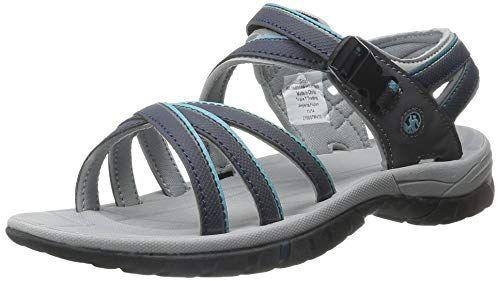 PDQ Womens//Ladies Superlight Floral Print Sports Sandals