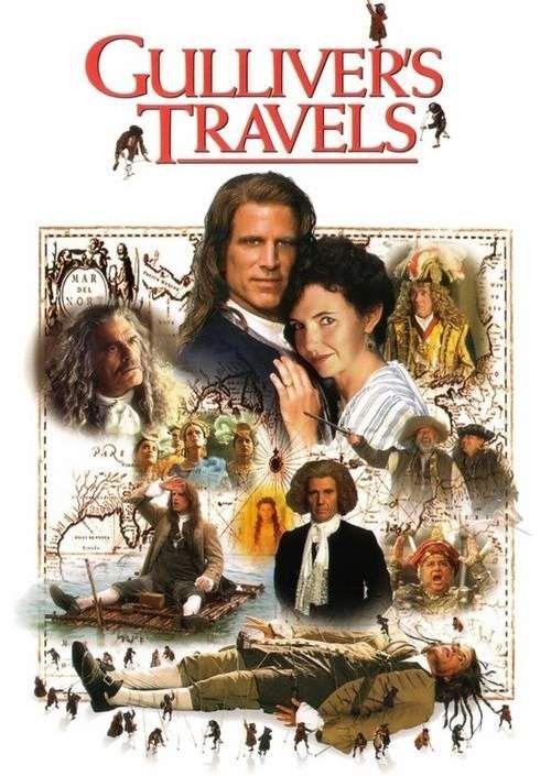 Gulliver S Travels 1996 Ted Danson 2 Dvd Set Gulliver S