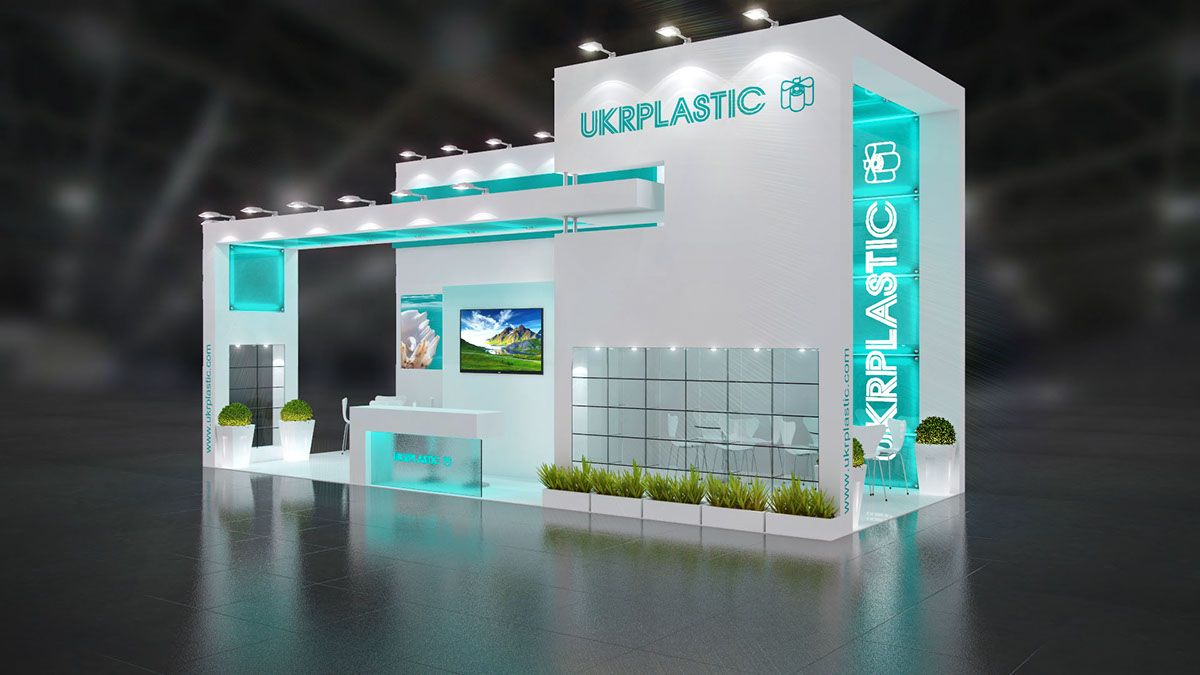 Exhibition Booth Behance : Exhibition stand design on behance