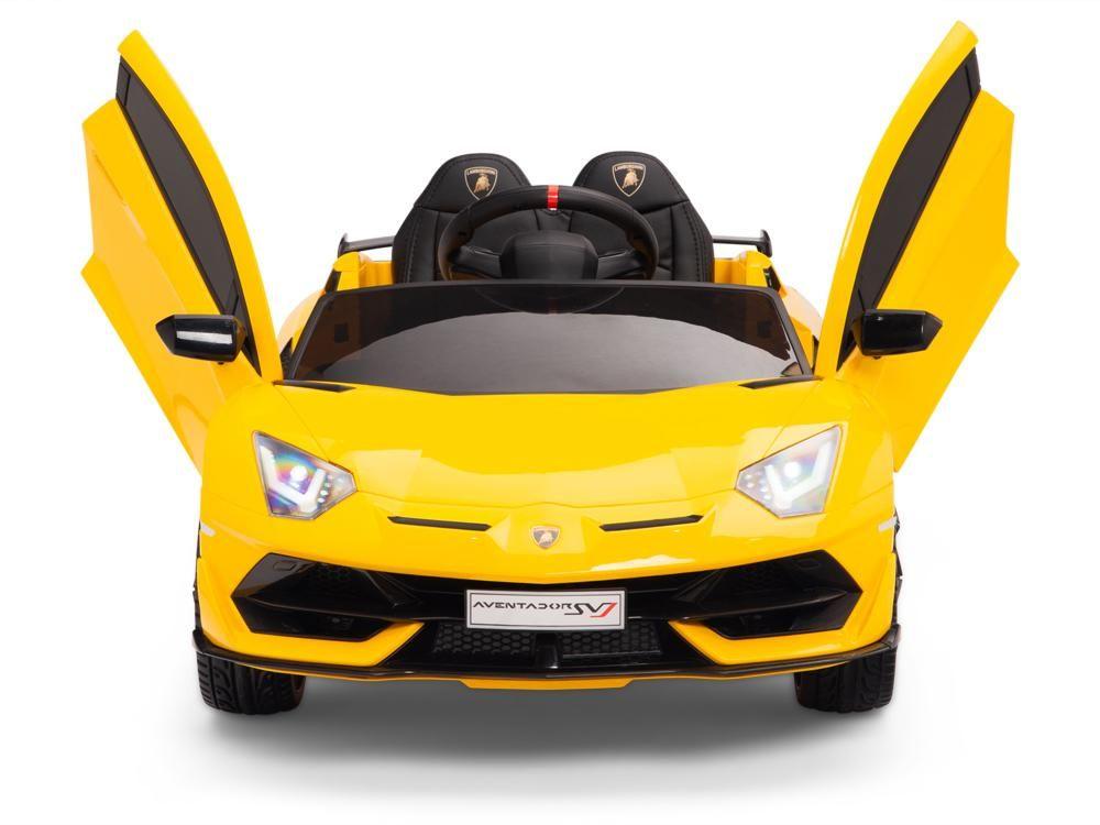 Toddler Lamborghini Svj Remote Control Ride On Aventador Riding Rubber Tires Lamborghini