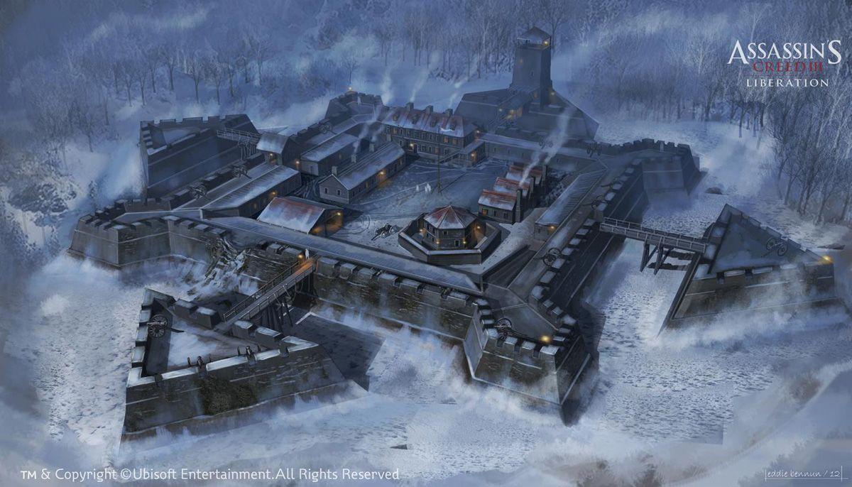 Assassin S Creed Iii Liberation Concept Art By Eddie Bennun
