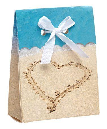 Loving this Beach Love Favor Bag - Set of 24 on #zulily! #zulilyfinds
