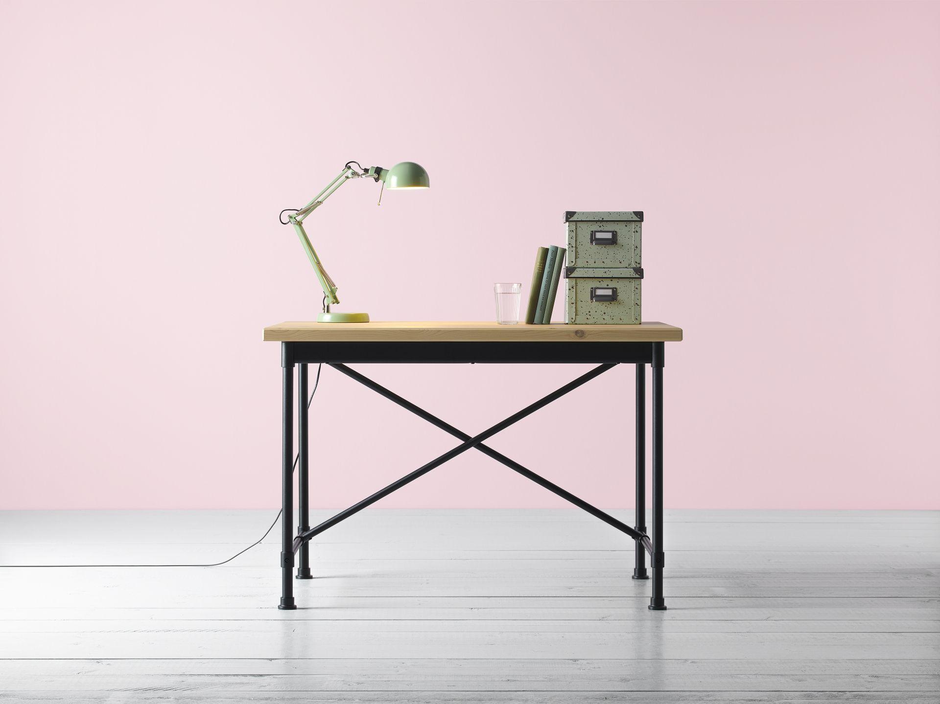 Kullaberg bureau grenen zwart in ikea catalogus