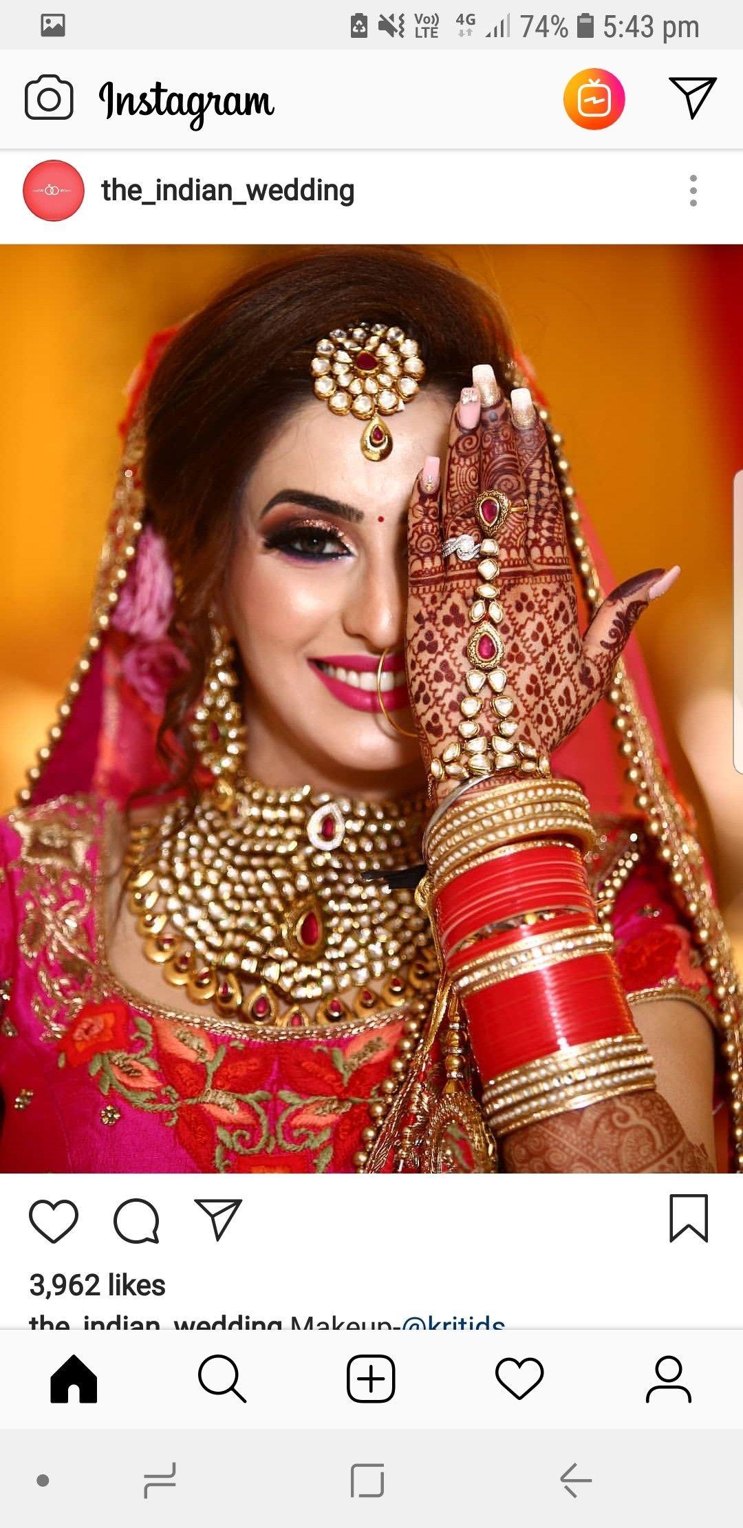 mangtika by Jyoti yadav Indian bride makeup