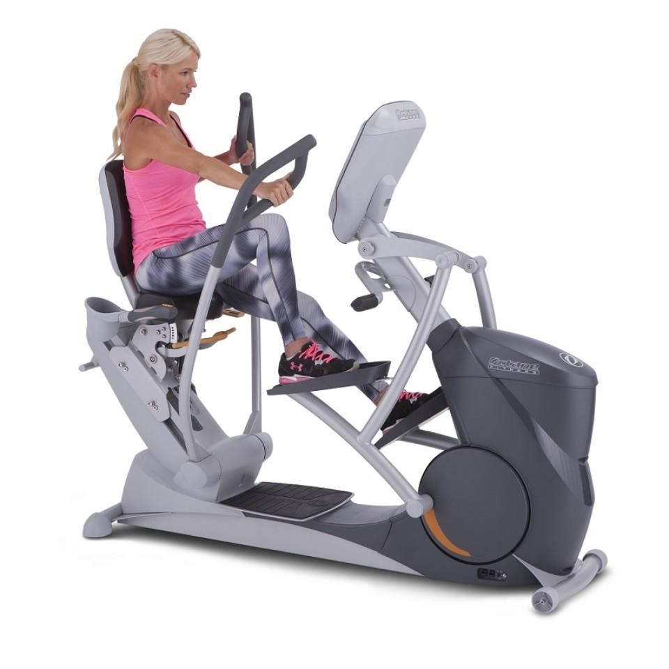 Octane Fitness Xr6000 Recumbent Elliptical Recumbent Bike Workout Total Body Workout Exercise Bikes