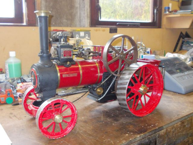 Second hand Allchin. Find a live steam model we show you where to look.
