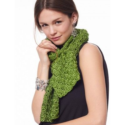 On The Bias Scarf Crochet Patterns Pinterest Scarf Crochet
