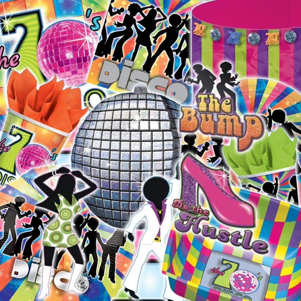 Disco Party Plates | eBay  sc 1 st  Pinterest & Disco Party Plates | eBay | Disco items | Pinterest | Disco party ...