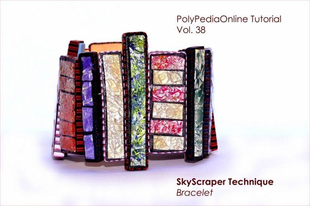 PolyPediaOnline - polymer_clay_tutorial_skyscraper_flakes_technique