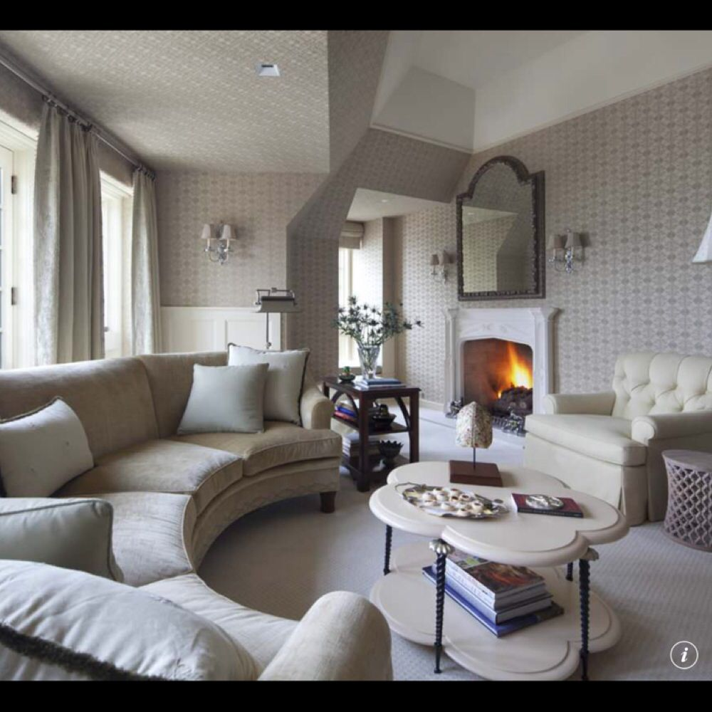 Houzz  Half Moon Couch  Living Room Inspirations in 2019