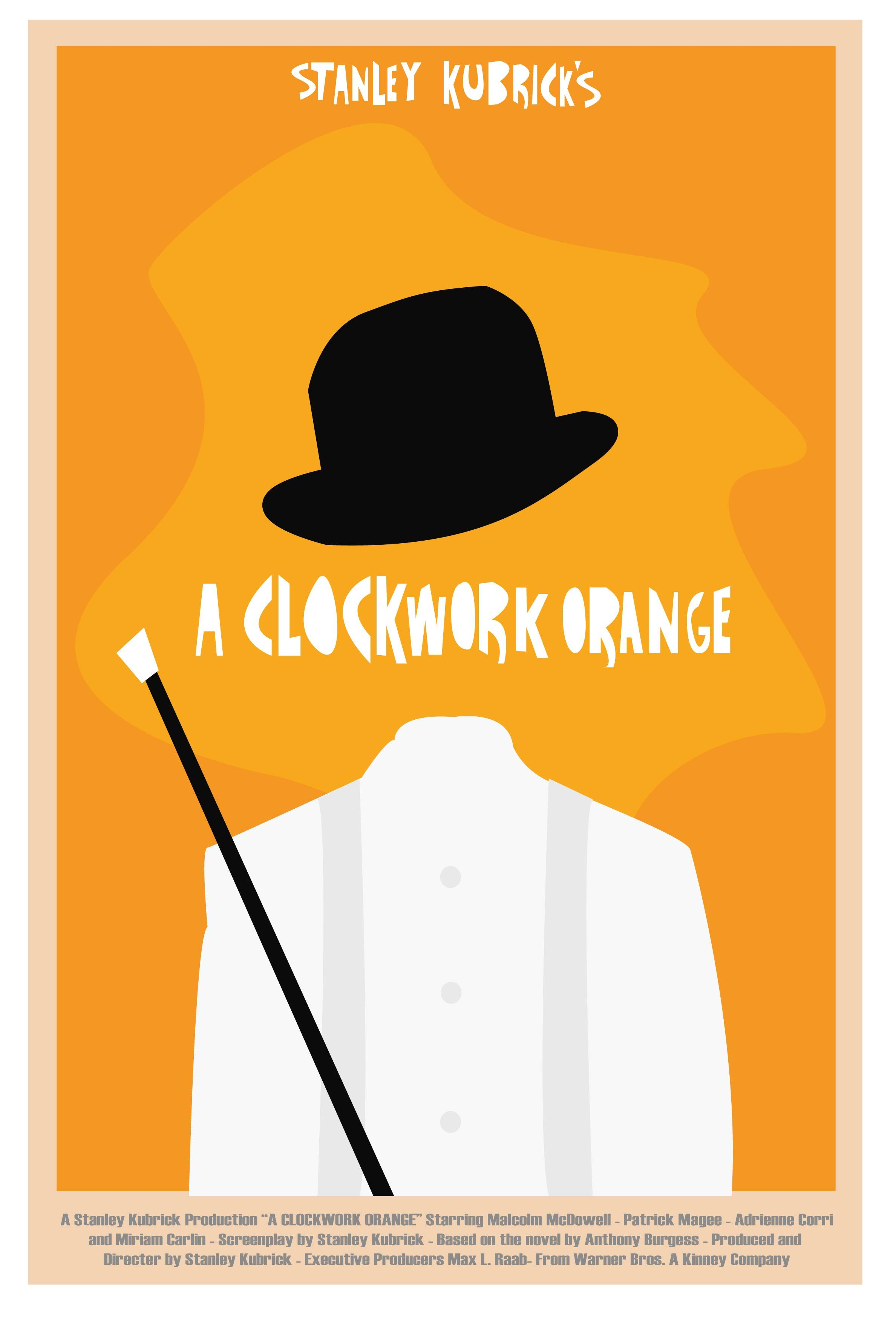 clockwork orange poster minimalist - Google Search ... A Clockwork Orange Minimalist Poster
