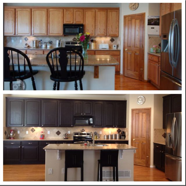 Kitchen Transformation Before And After: Before Bottom Picture