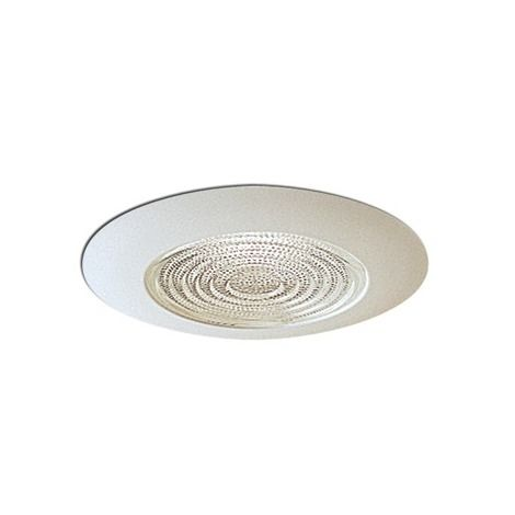 5in Line Voltage Wet Location Shower Recessed Lighting Trim with Fresnel Lens NT-5023