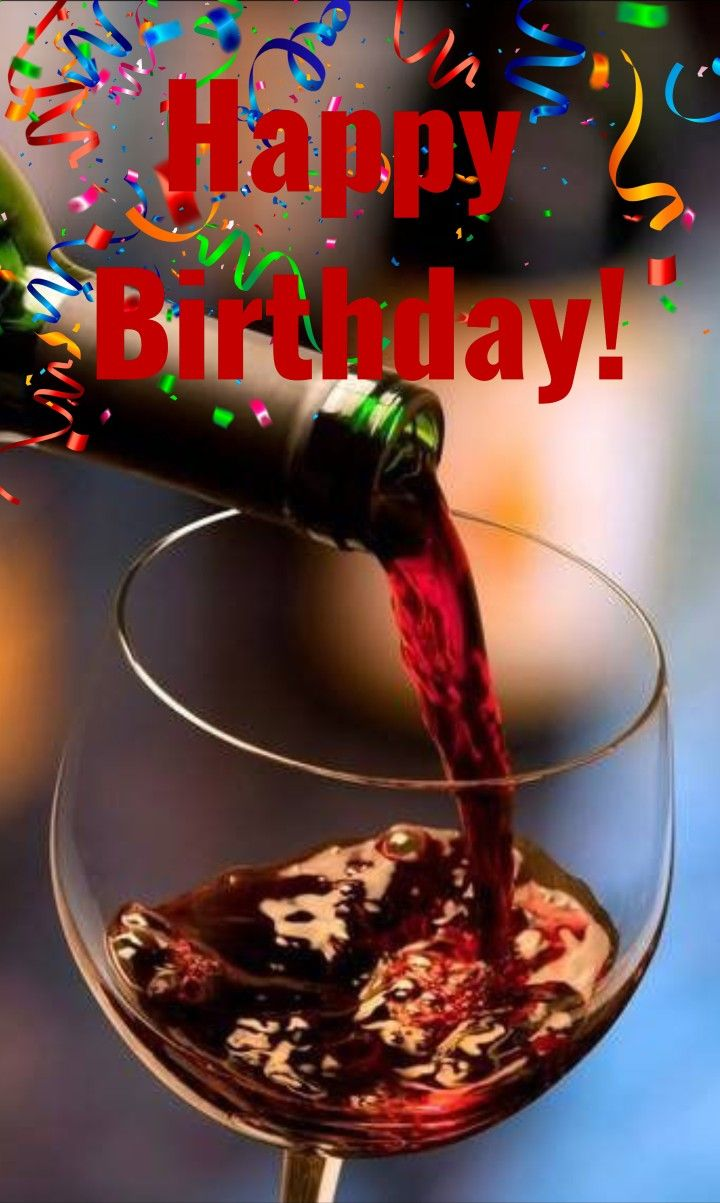 Happy Birthday Wine