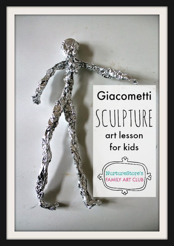 Giacometti Sculpture Art Project For Kids Sculpture With