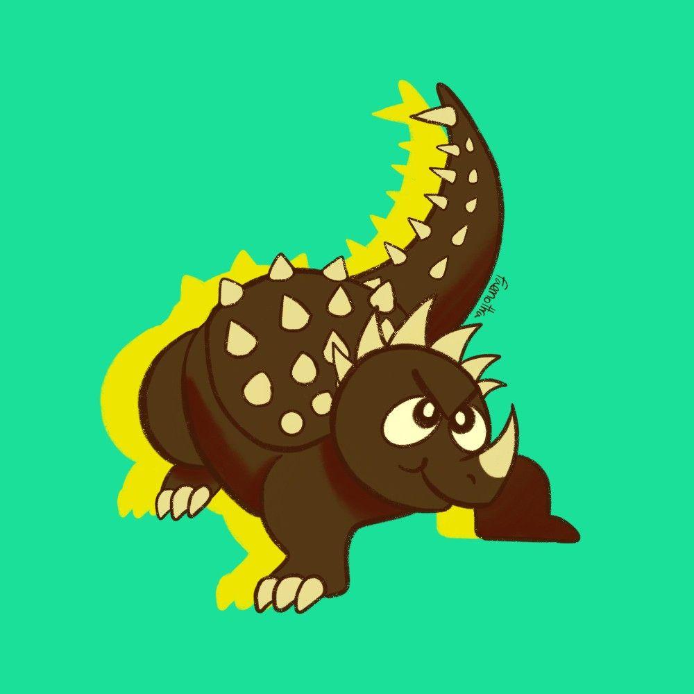 Anguirus monster hunter godzilla kaiju