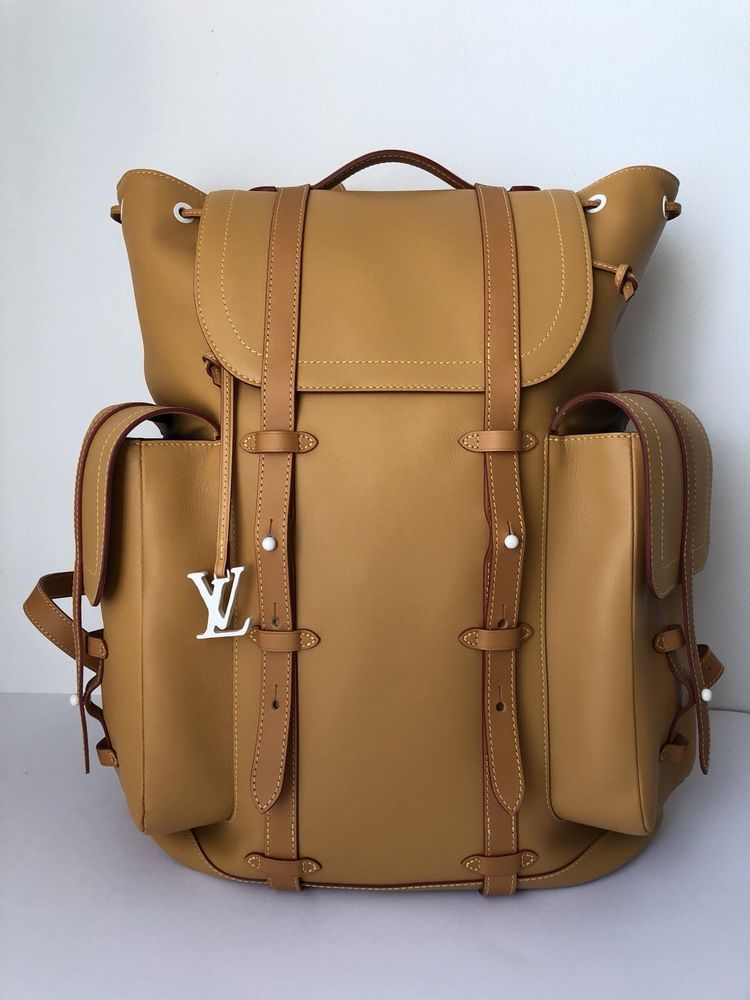 1ed46010637 RARE LOUIS VUITTON CHRISTOPHER BACKPACK Trunk Monogram Virgil Prism Keepall  #fashion #clothing #shoes #accessories #mensaccessories #bags (ebay link)