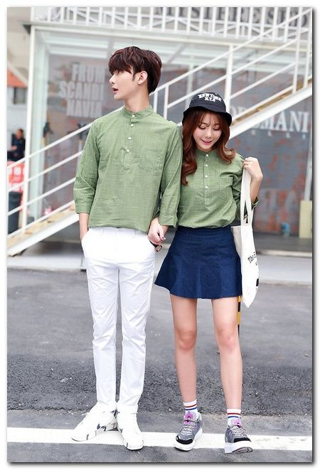 51c2a8caba Korean Street Fashion for Couple Outfit | Couples ♡ in 2019 ...