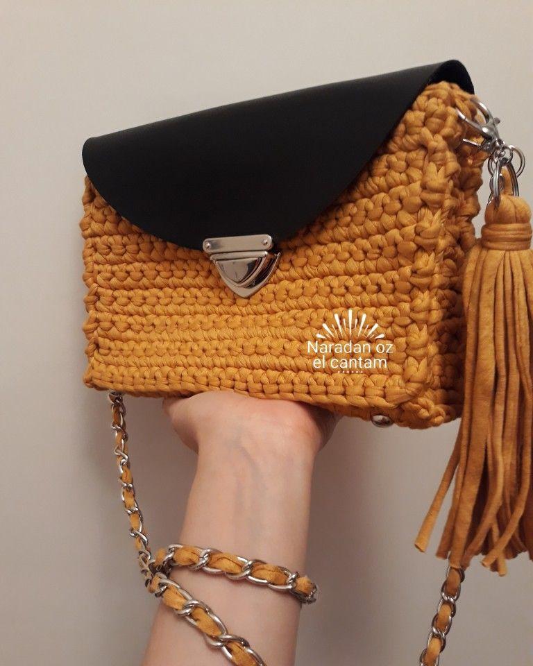 Pin af Christel Svanhede på Hæklede tasker crochet bags