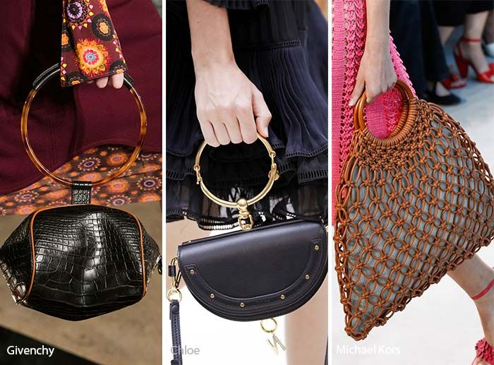 Spring/ Summer 2017 Handbag Trends: Bags with Rounded Handles