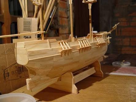 como fazer um barco de palito de picole passo a passo ile ilgili görsel sonucu