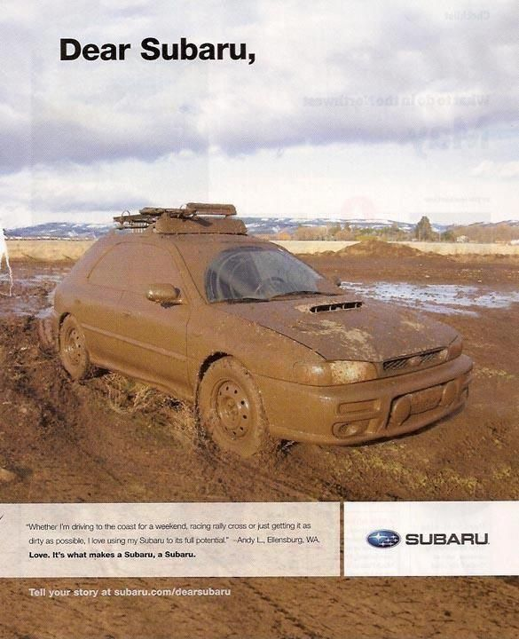 don't get stuck with something else! | Subaru Sports