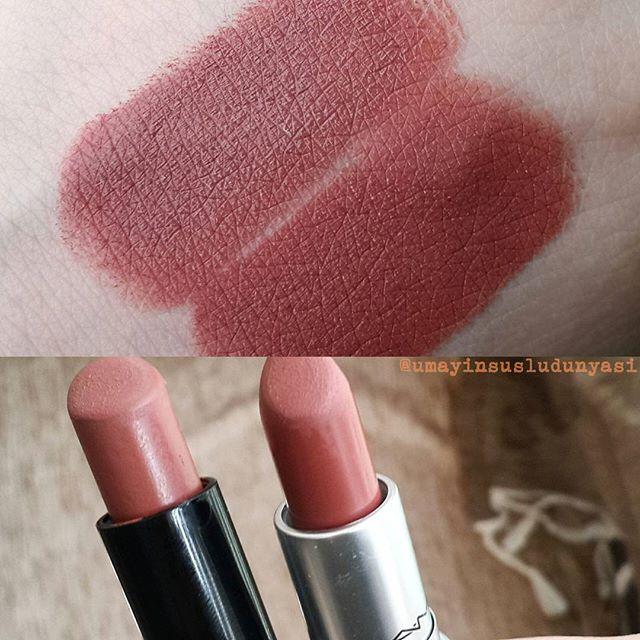 Dupe Golden Rose Mat Rujlardan 16 Mac Taupe Lip Color