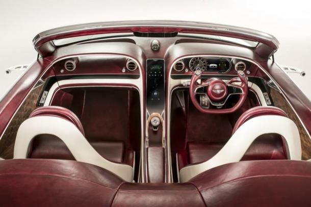 Bentley EXP 12 Speed 6e concept electrifies long road trips  https://goo.gl/CMSSBN