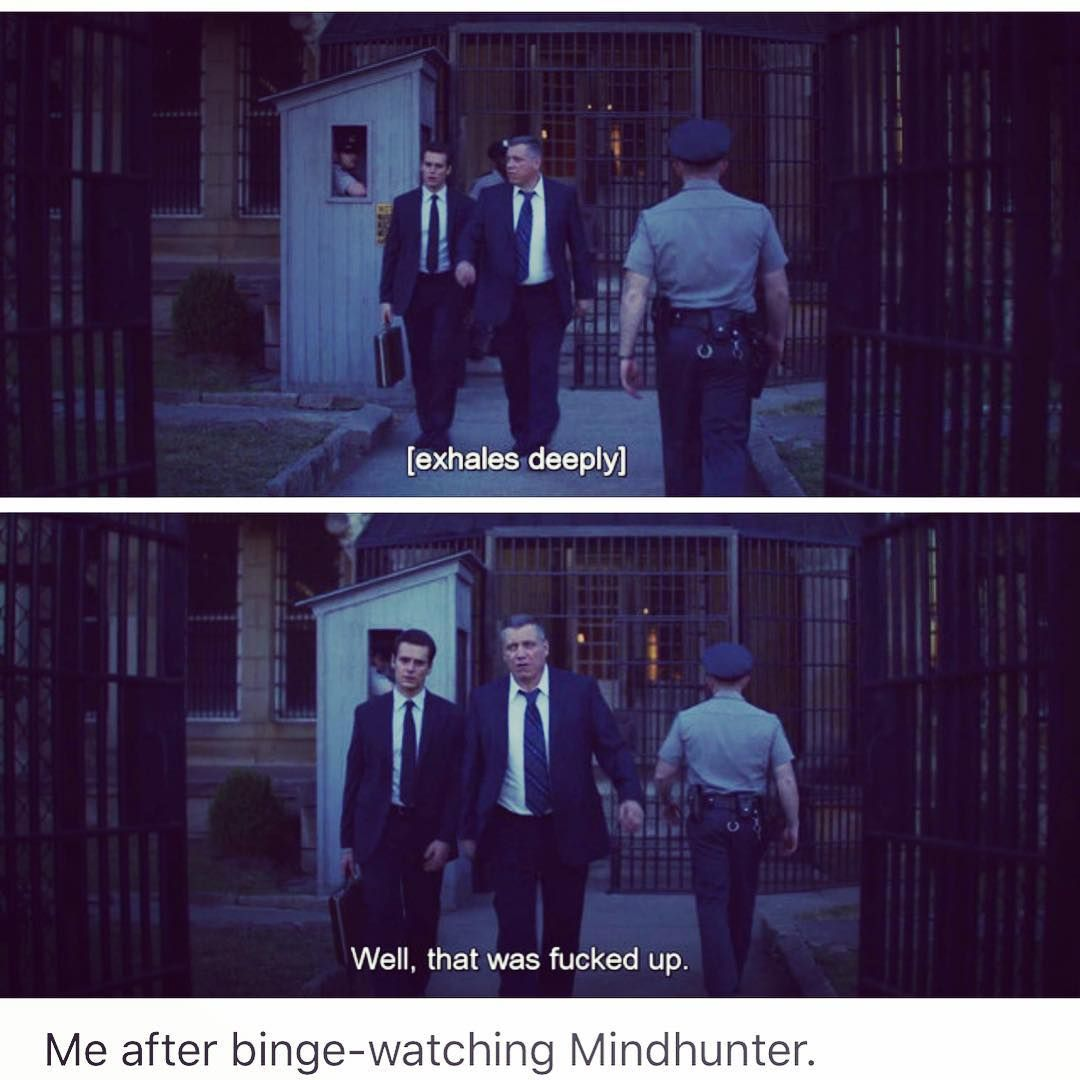 Mindhunter Netflix With Images Cheesy Jokes Television Show