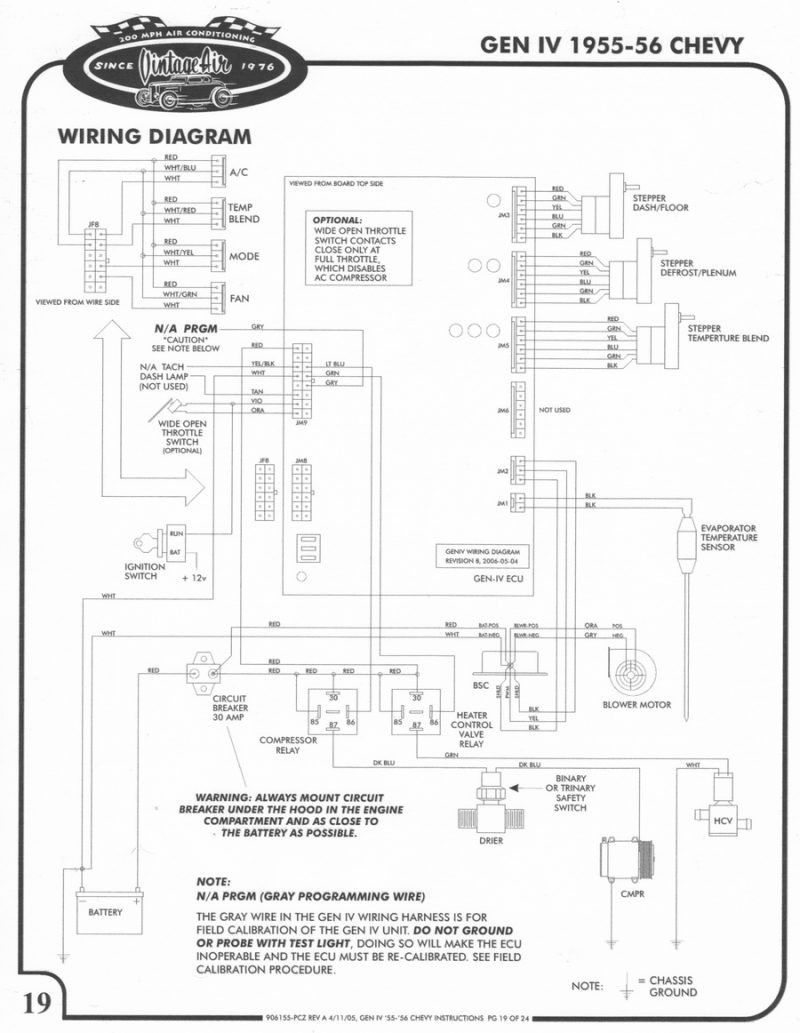 Vintage Air Wiring Diagrams in 2020 | Vintage air, Diagram, VintagePinterest
