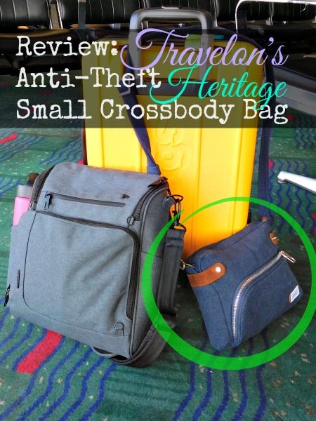 Travelon Heritage Crossbody Bag. Review  Travelon s Anti-Theft Heritage  Small ... 8d92177bf0be1