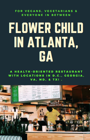 """""""Healthy Food for a Happy World"""" is the slogan at Flower"""