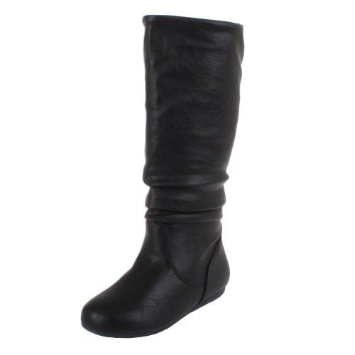 515b2369635 professional black boot no heel