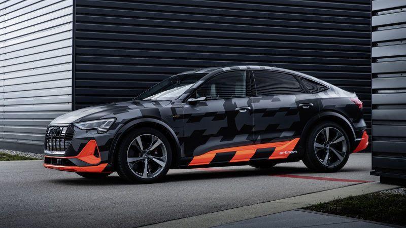Audi E-Tron S, E-Tron Sportback S get third motor, more power