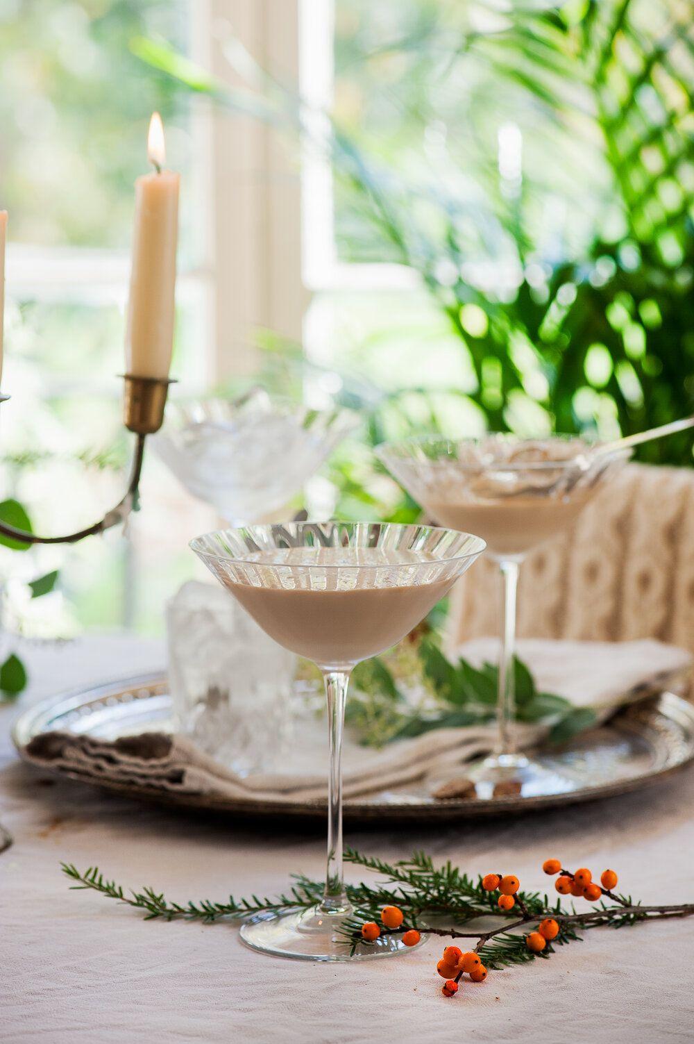 Irish cream liqueur christmas cocktail with images