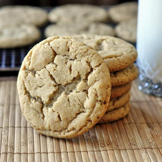 Aunt Aggie's Peanut Butter Cookies - I've been baking this recipe courtesy of my Aunt Aggie (a.k.a. Martha) for decades. They are soft, chewy, buttery, with crispy edges and I've never had better anywhere. Fantastic with added chocolate chips too!