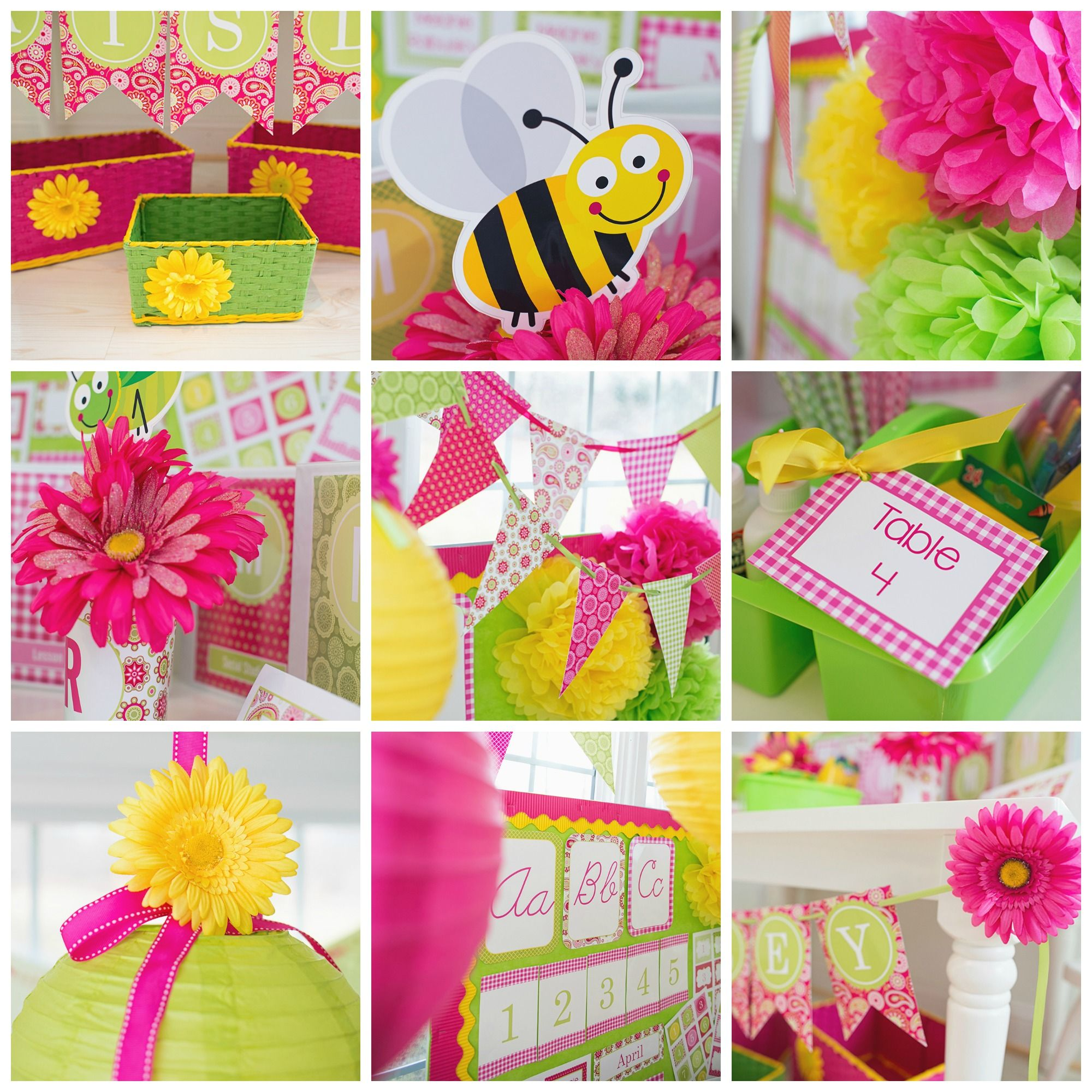 Classroom Decoration Theme Ideas Part - 34: Pink Paisley Garden Classroom Theme And Decor By Schoolgirl Style